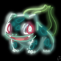 Bulbasaur [ neon glow ] | POKEMON by KatieSapphire