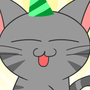 Birthday Cat by Axelstation