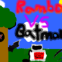 ROUND2: Fight! Rambo VS Batman by ScrewTheRules