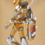 Megaman Steampunk by BiffTheTimid