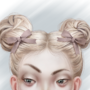 Double Buns by CyberMarionette