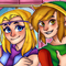 Re-drew a Zelda CD-I Scene