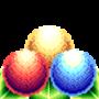Three Spheres on Leaves