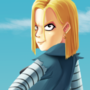 Android 18 by lightrail