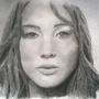 Jennifer Lawrence by Damrock
