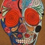 Colored Up Face(DDLM) by atomical2