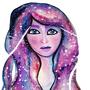 Galaxy Hair by ellyrox