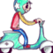 Scooter animation