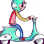Scooter animation 2