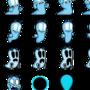 Spelunky - Boggy B Alien re-colored by DoodlingHitman