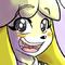 Animal Crossing Isabelle digital