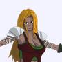 Sword Dancer by OscArt