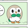Pokemon Sun and Moon - Discovering Rowlet by ZeTrystan