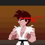 Pixel art Ryu styles by madmeliss