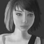 Max Caulfield grayscale by paparazziVN