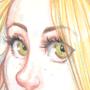 Mia - Watercolour Pencils by Sabtastic