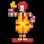 Day #41 - Ronald McDonald by JinnDEvil