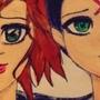 Emily & Rikushi by IvyPoison