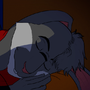 [GIFT] - Sleeping Rabbit by Bludermaus