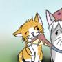 Kitten Vs Dragon by RosieAnimations