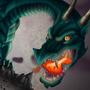Dragon Vs Kitten by DizzyVix