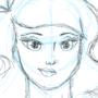 Girl Sketch by BTWComics
