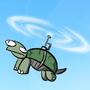 flying turtle by WaxTerK