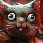 cat vs dragon by zattdott