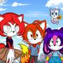 four good friends by EmblemAngel15