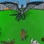 Kittens Vs Dragons by WarriorKatHun
