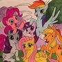 My (niece's) little ponies by Kaital