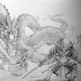 Sketch Dragon vs Kitten