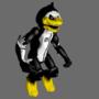 Dark Penguin Animatronic Model by lucascoolsouza