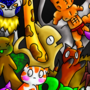 Beware The Mighty Kitten Swarm by AGWo3o