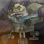 Kitten Vs Dragon by Joedrawer10