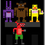 fan art FNAF by Dragoncrusader