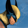 Wolverine portrait Fanart.