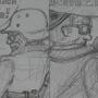 Art Bleeds History (Pencil line) by FallOutFox