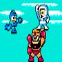 Gutsman and iceman