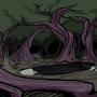 Swamp/dark forest background by Socs