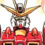 Build Burning Gundam by Sabtastic