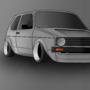 VW Golf MK1 by Robtonu