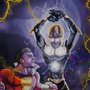 Captain Marvel vs Nova Prime by The-Artist-J