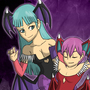Morrigan and Lilith by Plazmix
