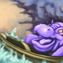 Hippo Lost at Sea in a Storm