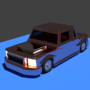 3D model of a car by Mujtahid