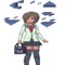 Pixel Laurel