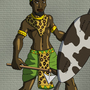 Zimbabwean Axeman by BrandonP