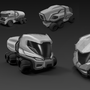 Truck Concept Design Sketch by luqzzee