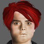 Gerard Way Practice painting by ChibiChris97